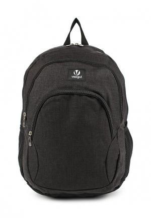 Рюкзак Veegul. Цвет: черный