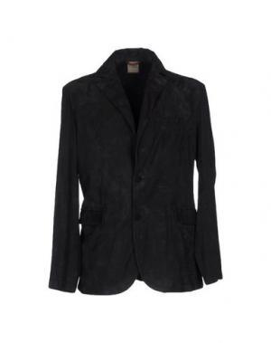 Пиджак D'AMICO. Цвет: стальной серый