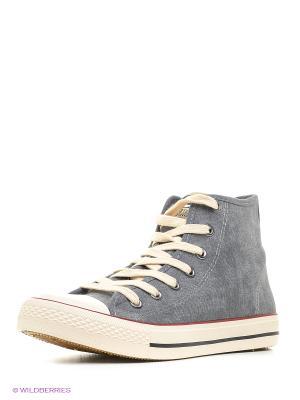 Ботинки EcoTex Zebra. Цвет: серый