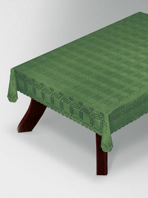 Скатерть Haft. Цвет: зеленый