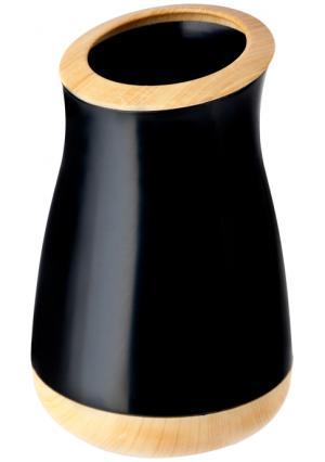 Стакан для зубных щеток OFURO* VIGAR. Цвет: черный (черный, светло-коричневый)