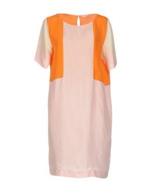 Короткое платье FILIPPA K. Цвет: светло-розовый