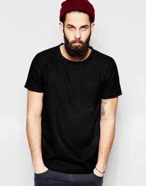 2 x H Brothers Шерстяная футболка 2xH. Цвет: черный