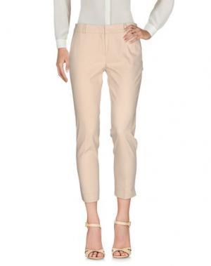 Повседневные брюки JUST FOR YOU. Цвет: бежевый