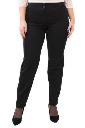 Зауженные брюки с застежками Balsako. Цвет: черный