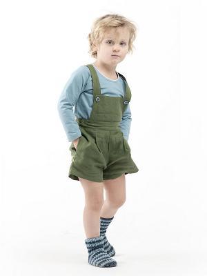 Шорты Коротышки Sardina Baby. Цвет: зеленый