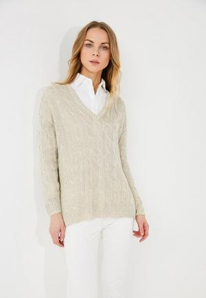Пуловер Polo Ralph Lauren. Цвет: бежевый