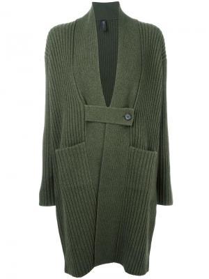 Пальто-кардиган Lia Zero + Maria Cornejo. Цвет: зелёный