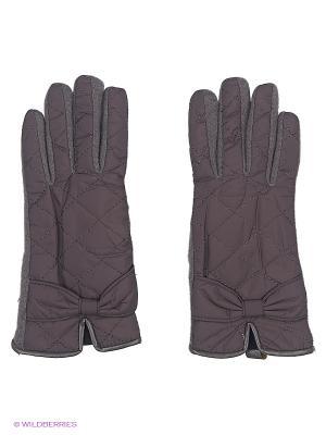 Перчатки Moltini. Цвет: серый