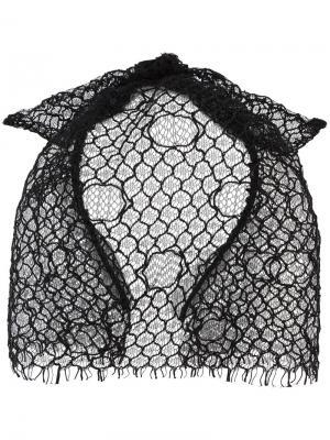Ободок с вуалью Tina Maison Michel. Цвет: чёрный