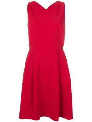 Flared shift dress Roland Mouret. Цвет: красный