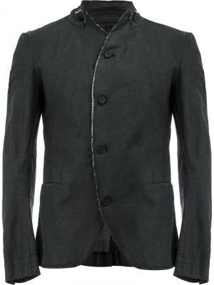 Пиджак с высоким воротом Masnada. Цвет: чёрный