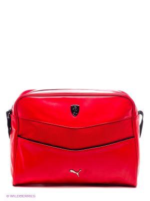 Сумка Ferrari LS Reporter Puma. Цвет: красный