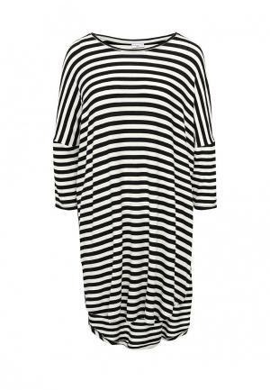 Платье Jacqueline de Yong. Цвет: черно-белый
