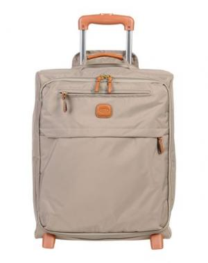 Чемодан/сумка на колесиках BRIC'S. Цвет: серый