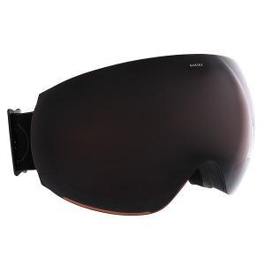 Маска для сноуборда  Eg3 Matte Black+Black/Brose Electric. Цвет: черный