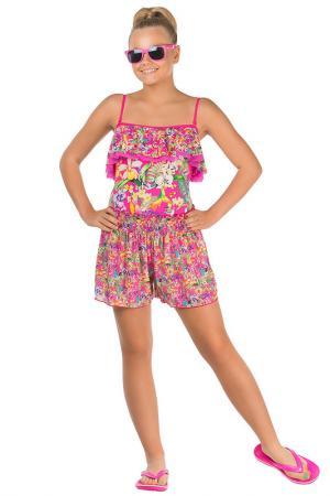Пляжные шорты Arina Festivita by Lora Grig. Цвет: мультицвет