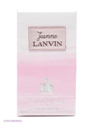 Туалетная вода JEANNE, 30 мл спрей LANVIN. Цвет: розовый