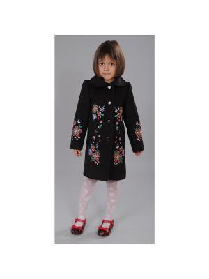 Пальто Fleur de Vie. Цвет: коричневый