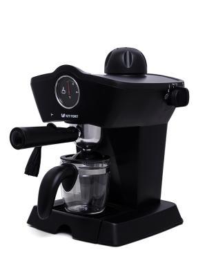 Кофеварка КТ-706 Kitfort. Цвет: черный