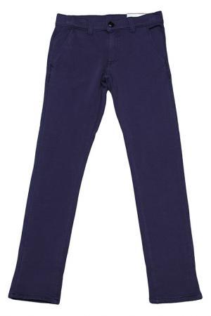 Трикотажные брюки Dodipetto. Цвет: синий