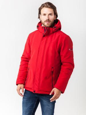 Куртка Malinardi. Цвет: красный