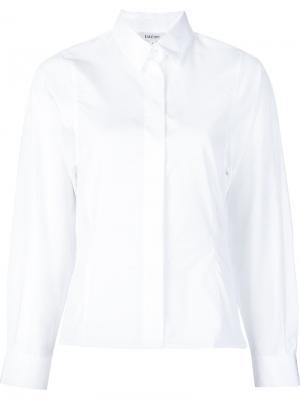 Классическая рубашка на пуговицах Toteme. Цвет: белый