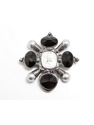 Броши Kameo-bis. Цвет: черный, серый, серебристый
