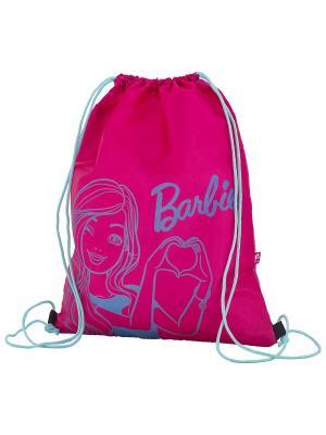 Мешок для обуви. Barbie. Цвет: розовый, голубой