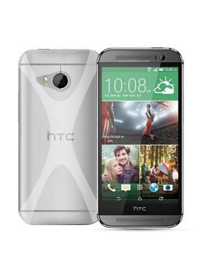 Чехол-панель для HTC M8 mini, Х-дизайн, прозрачный Belsis. Цвет: прозрачный