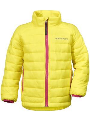 Куртка UMLALI DIDRIKSONS. Цвет: желтый