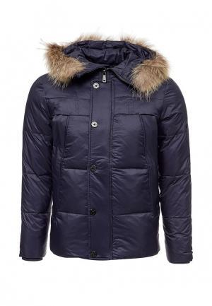 Куртка утепленная Vitario. Цвет: синий