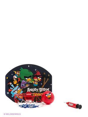 Игровой набор Баскетболный щит с кольцом 1Toy. Цвет: красный