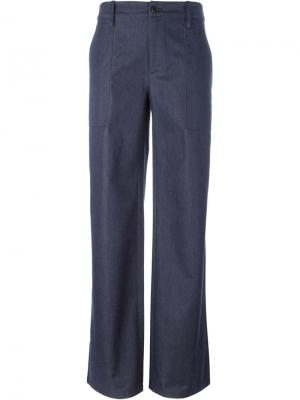 Широкие брюки Société Anonyme. Цвет: синий