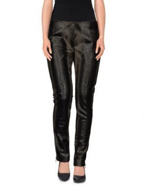 Повседневные брюки LE RAGAZZE DI ST. BARTH. Цвет: темно-зеленый