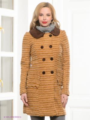 Пальто Siempre es Viernes. Цвет: бежевый, светло-коричневый