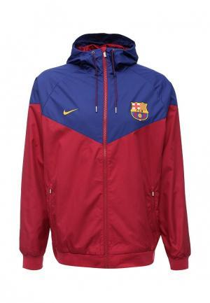Ветровка Nike. Цвет: бордовый