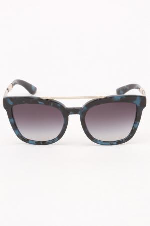 Очки солнцезащитные DOLCE & GABBANA. Цвет: зеленый