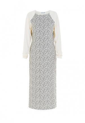 Платье Bella Kareema. Цвет: белый