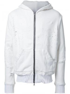 Куртка-бомбер Amiri. Цвет: белый