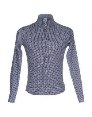 Pубашка TED SCARF. Цвет: темно-синий