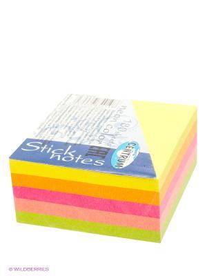 Стикеры куб, 180 листов Centrum. Цвет: голубой