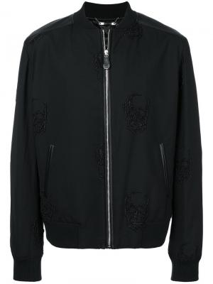 Куртка-бомбер  Setting Philipp Plein. Цвет: чёрный