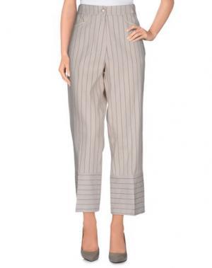 Повседневные брюки ALYSI. Цвет: светло-серый