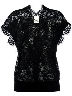 Lace blouse 8pm. Цвет: чёрный