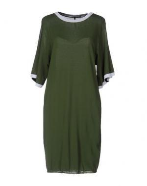 Короткое платье LIVIANA CONTI. Цвет: зеленый-милитари