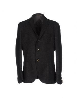 Пиджак PAOLONI. Цвет: стальной серый