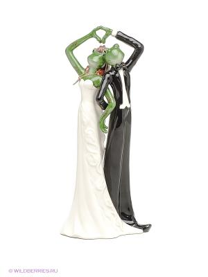 Фигурка Альфрого и Фрогалина Pavone. Цвет: зеленый, белый, черный