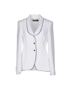 Пиджак LIST. Цвет: белый
