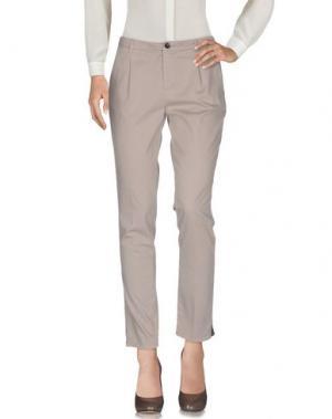 Повседневные брюки GOOD MOOD. Цвет: бежевый